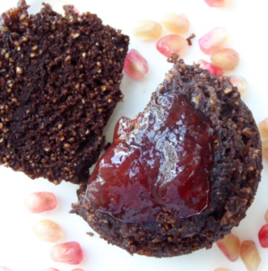 Hungry Empress' Chocolate Oatmeal Mug Cake
