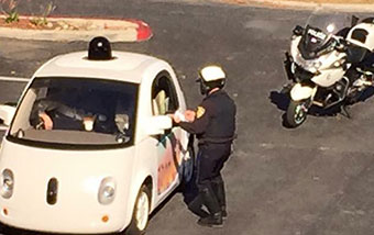Google Car Almost Got a Ticket for Going Too Slow