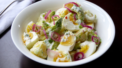 Hungry Empress' Potato Egg Avocado Salad
