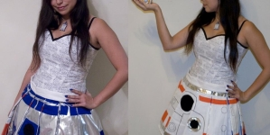 Lemon Drop Cosplay's Star Wars Transforming Dress