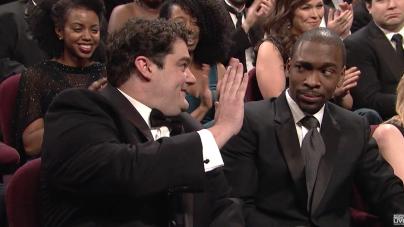 #OscarsSoWhite on SNL