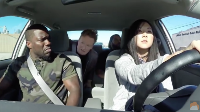Conan, Kevin Hart and Ice Cube Teach Driving