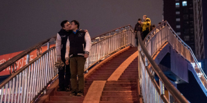 Gay Kiss Too Hot For Pakistan