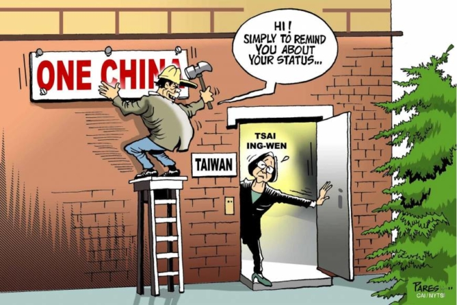 """Chinese Imperialism: Japanese American Got Punched by Chinese Attorney for Saying """"Taiwan is independent"""" in America."""