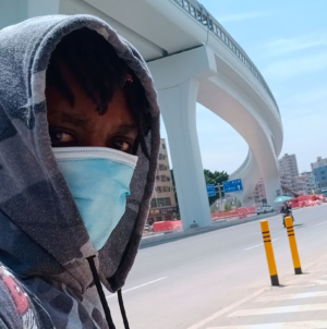 An Aspiring Kenyan Actor in China